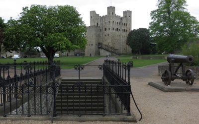Rochester UK – Easy to get to, with a Great Castle and Cathedral