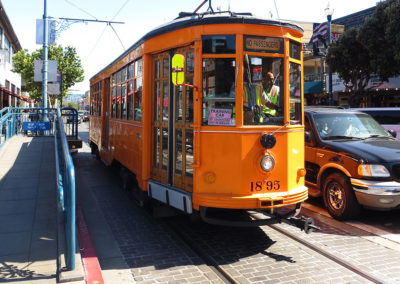 San Francisco Historical Streetcar
