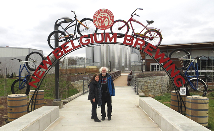 Beer Tour at New Belgium Brewing Company in Asheville North Carolina